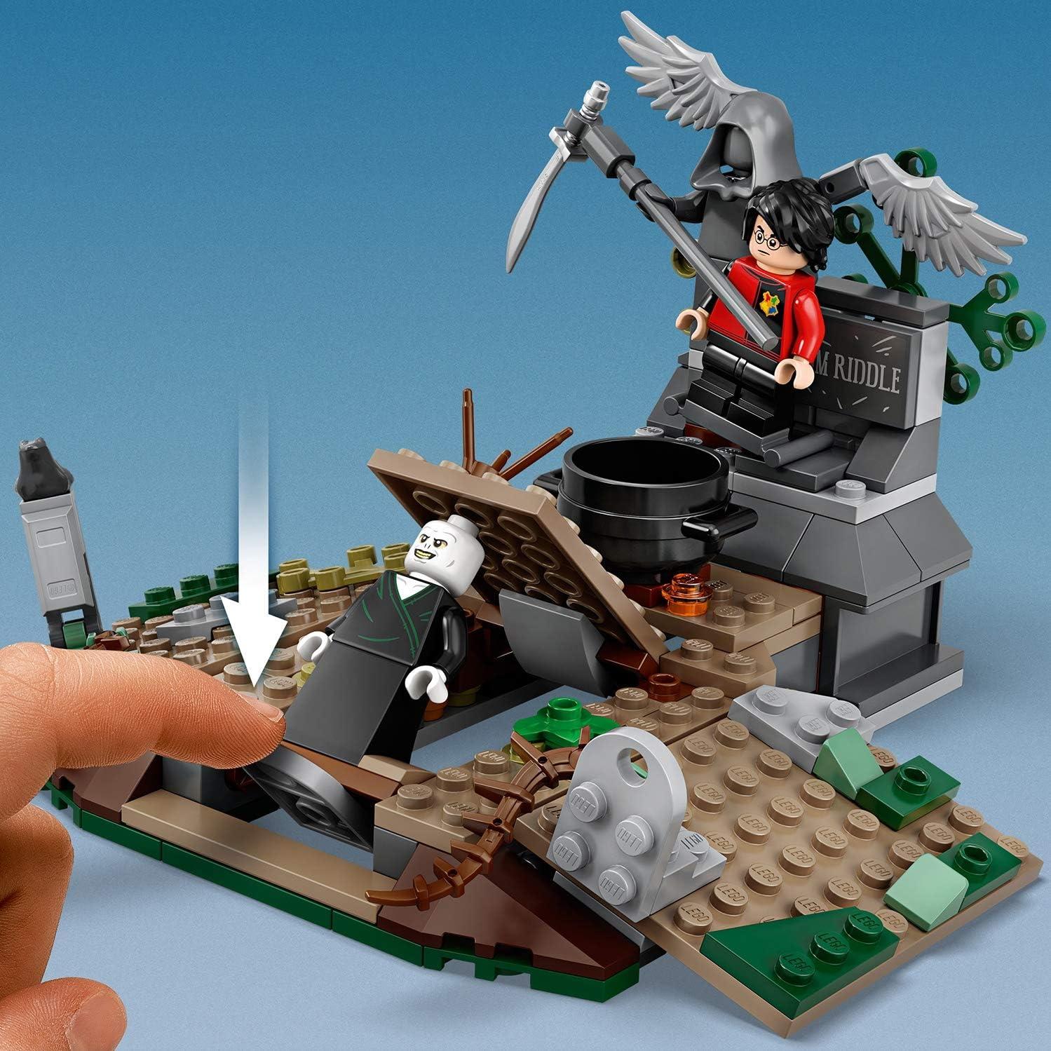 LEGO® 75965 HARRY POTTER Todesser mit Zauberstab Figur NEU