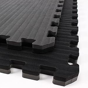 Best BJJ Mats - IncStores - Tatami Foam Tiles - Extra Thick mats