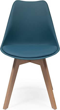 💙 DISEÑO NÓRDICO: La silla DAY está inspirada en el diseño nórdico –scandi. Una silla perfecta para