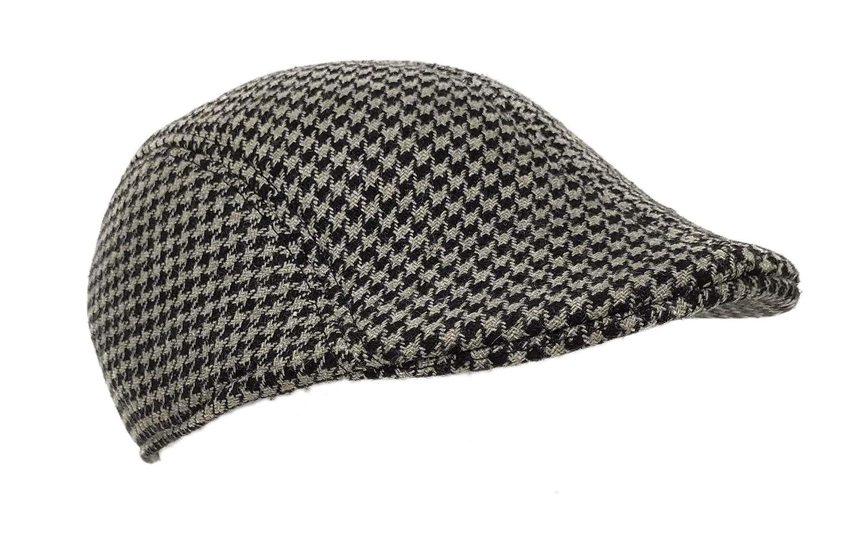 Gorra Gatsby de tweed, sombrero de hombre, visera plana, ivy ...
