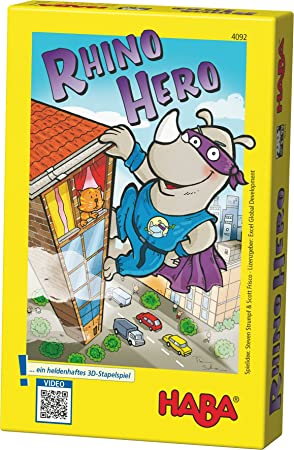Haba Juego De Cartas Rhino Hero 2 A 5 Jugadores 4092 Amazon Es