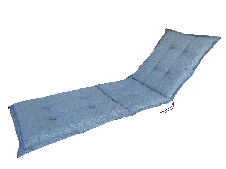 8 cm Luxus Rollliegenauflage A046, grau uni