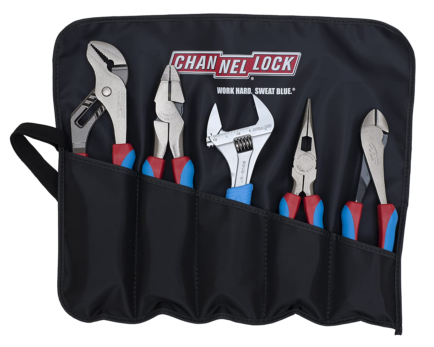 Channellock CBR-5  Code Blue Set with Tool Roll 5-Piece Channellock Inc