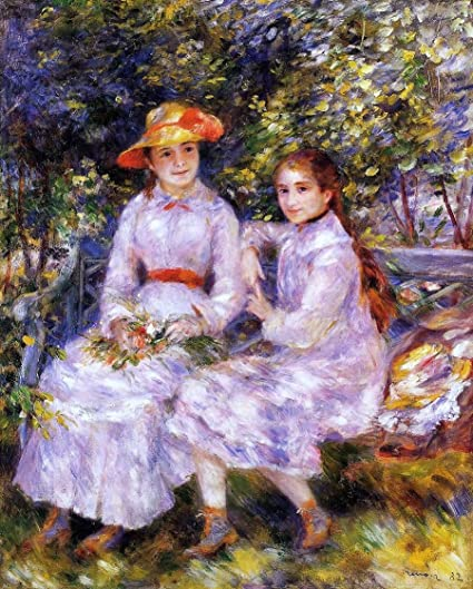 Pierre Auguste Renoir The Daughters Of Paul Durand Ruel Also Known As Marie