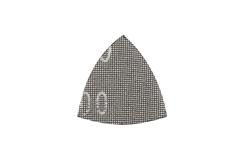 KWB 49492322 Pack de 5 Rejillas abrasivas Delta 93 x 93 mm K220, 0 W, 0 V, Gris Einhell