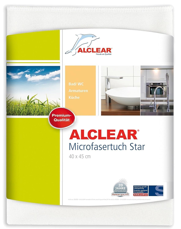 Alclear Microfasertuch Star Spezialtuch Entfernt Kalkränder Ohne