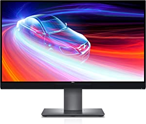 Dell U2720QM 27 Inch UltraSharp 4K UHD, IPS Ultra-Thin Bezel Monitor (HDMI, DisplayPort, USB-C), VESA Certified, Silver