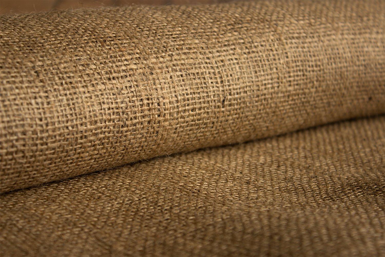 Burlapper 12 oz Jute Burlap Fabric Sheet, 40'' x 5 yd, Factory 2nd