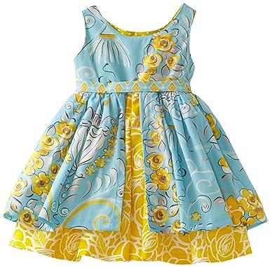 bf04fc6a0fe5 Amazon.com  Jelly The Pug Baby Girls  Poem Katy Dress
