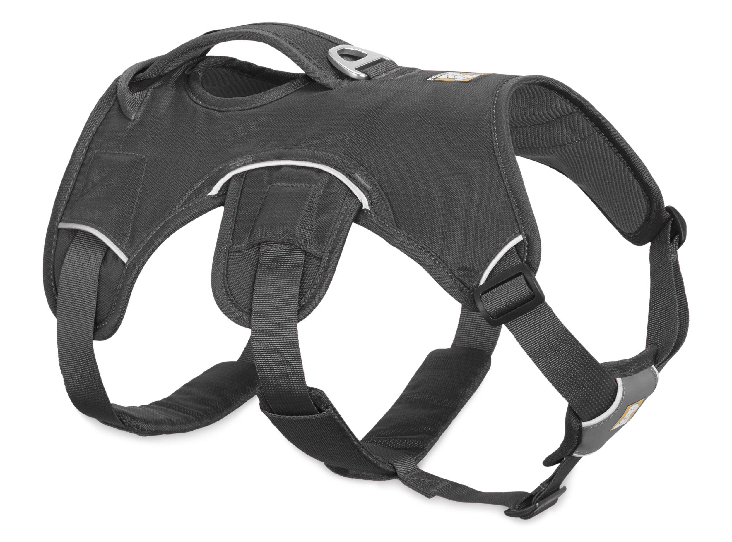 RUFFWEAR - Web Master, Multi-Use Support Dog Harness, Hiking and Trail Running, Service and Working, Everyday Wear, Twilight Gray, Medium by RUFFWEAR