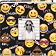 Pioneer Photo Albums Álbum de fotos Emoji 200 pacotes 4x6, bolso, preto