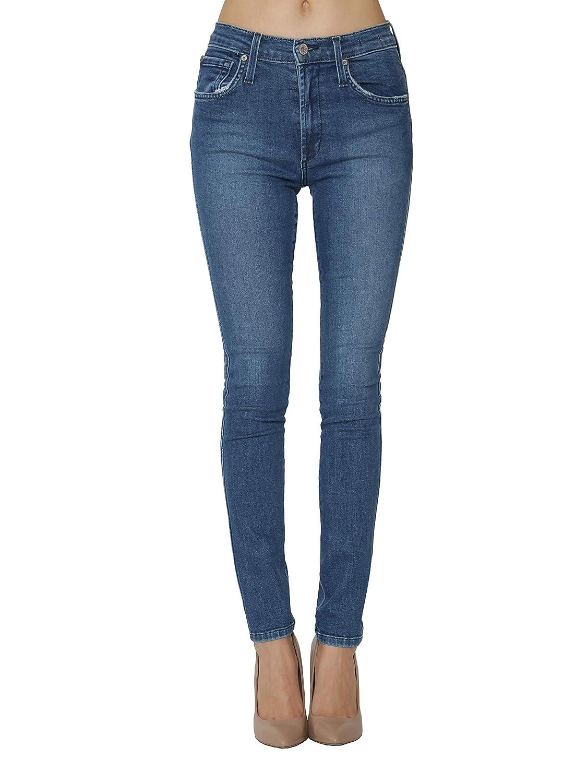 James Jeans Womens Jeans High Rise Skinny Jeans in Super Slim Medium