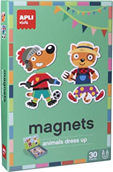 Oferta amazon: APLI Kids - Dress Up Juego Magnético, Color Multicolor, 16495