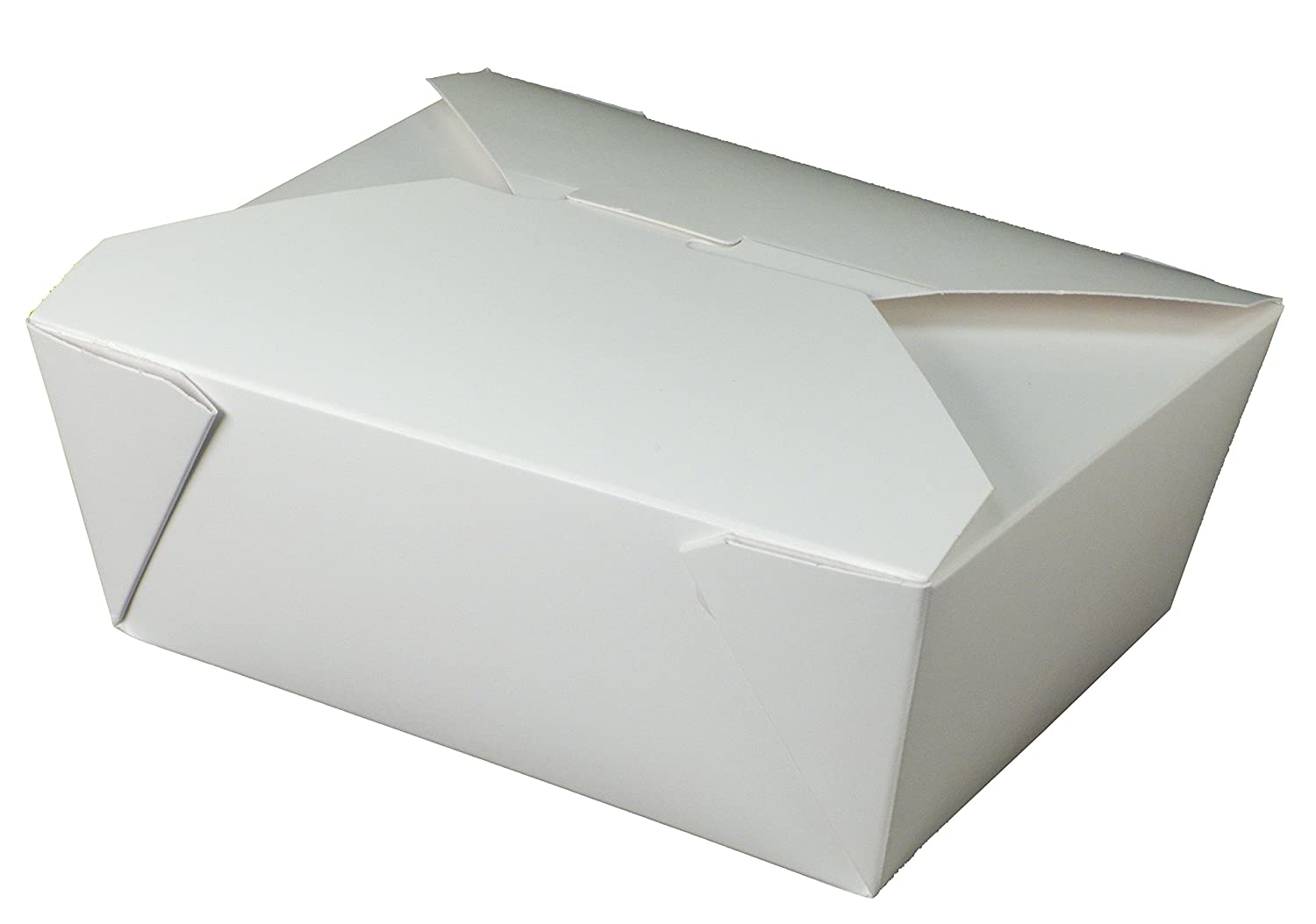 Fold-Pak Bio-Pak 08BPWHITEM Paper Carry-Out/to-Go Container,6