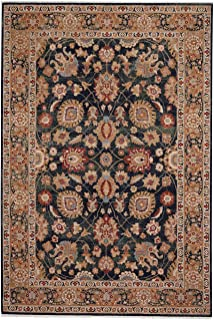 """product image for Capel Kindred-Peshawar Navy 5' 3"""" x 7' 10"""" Rectangle Machine Woven Rug"""