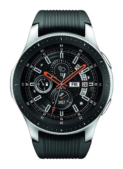 a1616e684 Amazon.com  Samsung Galaxy Watch (46mm) Silver (Bluetooth) SM-R800NZSAXAR  US Version with Warranty (Renewed)  Cell Phones   Accessories