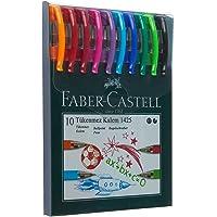 Faber-Castell 1425 Tükenmez Kalem, 10 Adet, 0.7 mm