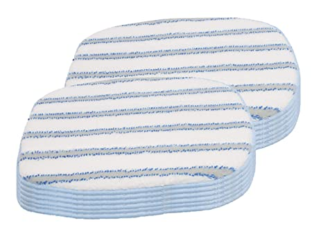 LTWHOME Microfiber Scrubbing Mop Pads Fit for McCulloch MC1375 Pack of 6 Compatiable with McCulloch A1375-101 MC1385 Steam Cleaner