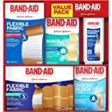 Band-Aid Brand Active Lifestyles Variety Pack Adhesive Bandages, 170 Count
