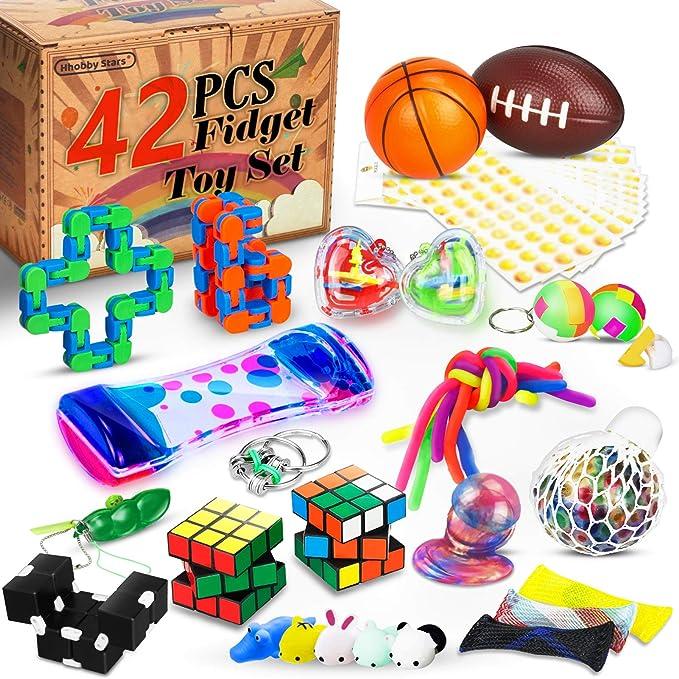 Pop It Fidget Toy Push Pop Pop Bubble Sensorial Fidget Sensory Toy En Forma de Corazon Fidget Sensory Toys Autism Squeeze Sensorial para Aliviar el Estr/és Juguete para Ni/ños y Adultos A