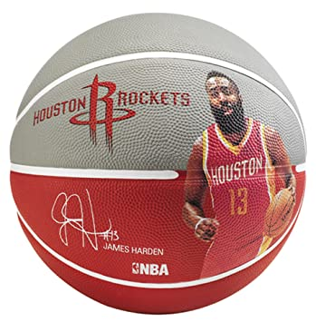 Spalding NBA Player James Harden Sz.7 83-347Z Balón de Baloncesto ...