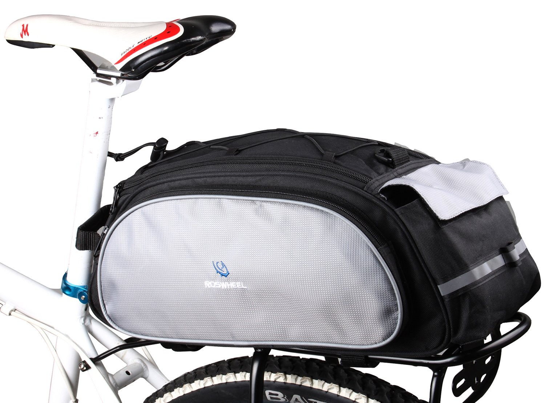 DCCN Alforja para Bicicleta, Impermeable, Color Negro, 13L product image