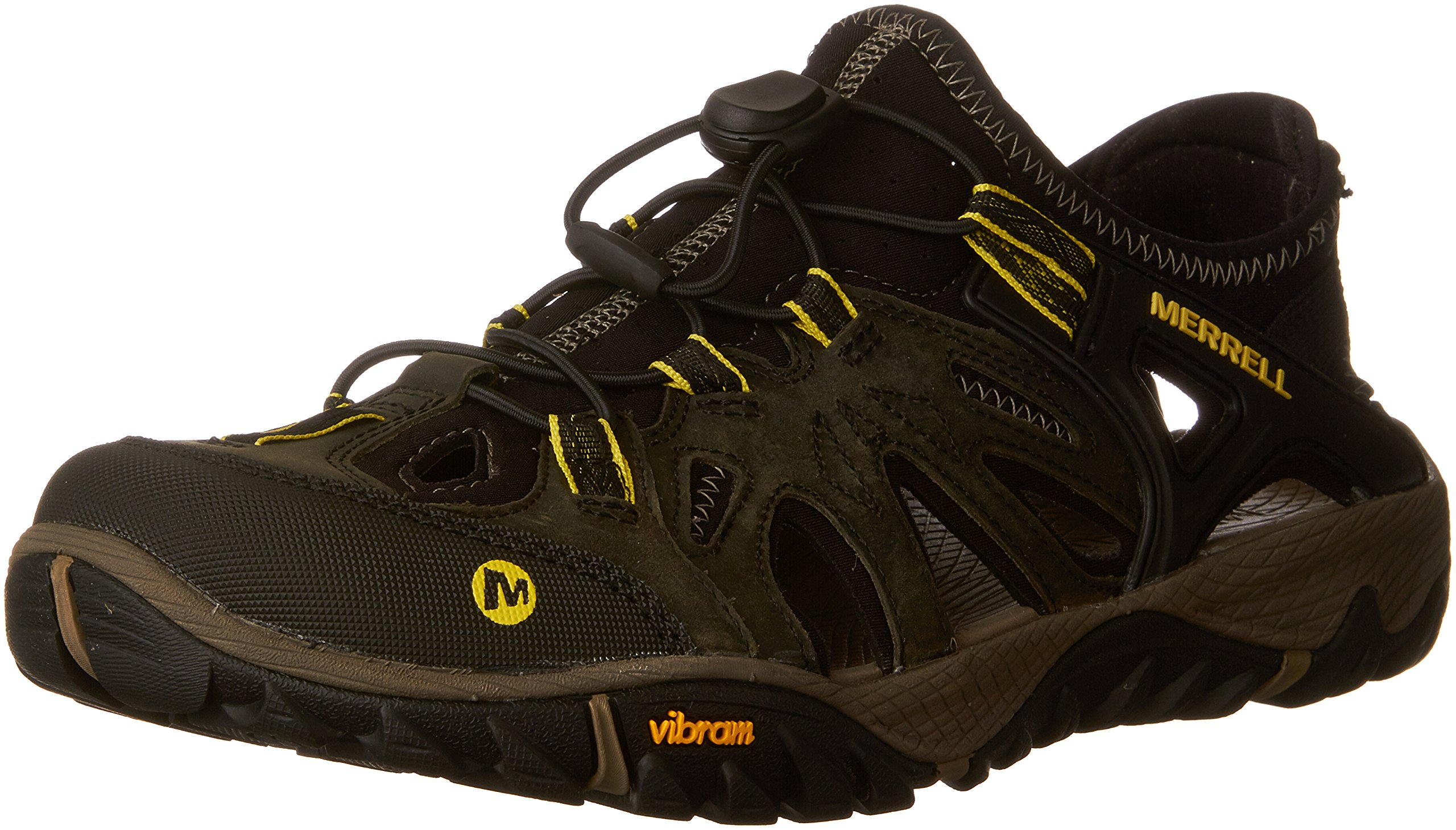 Merrell Men's All Out Blaze Sieve Hiking Shoe, Olive Night, 12 M US