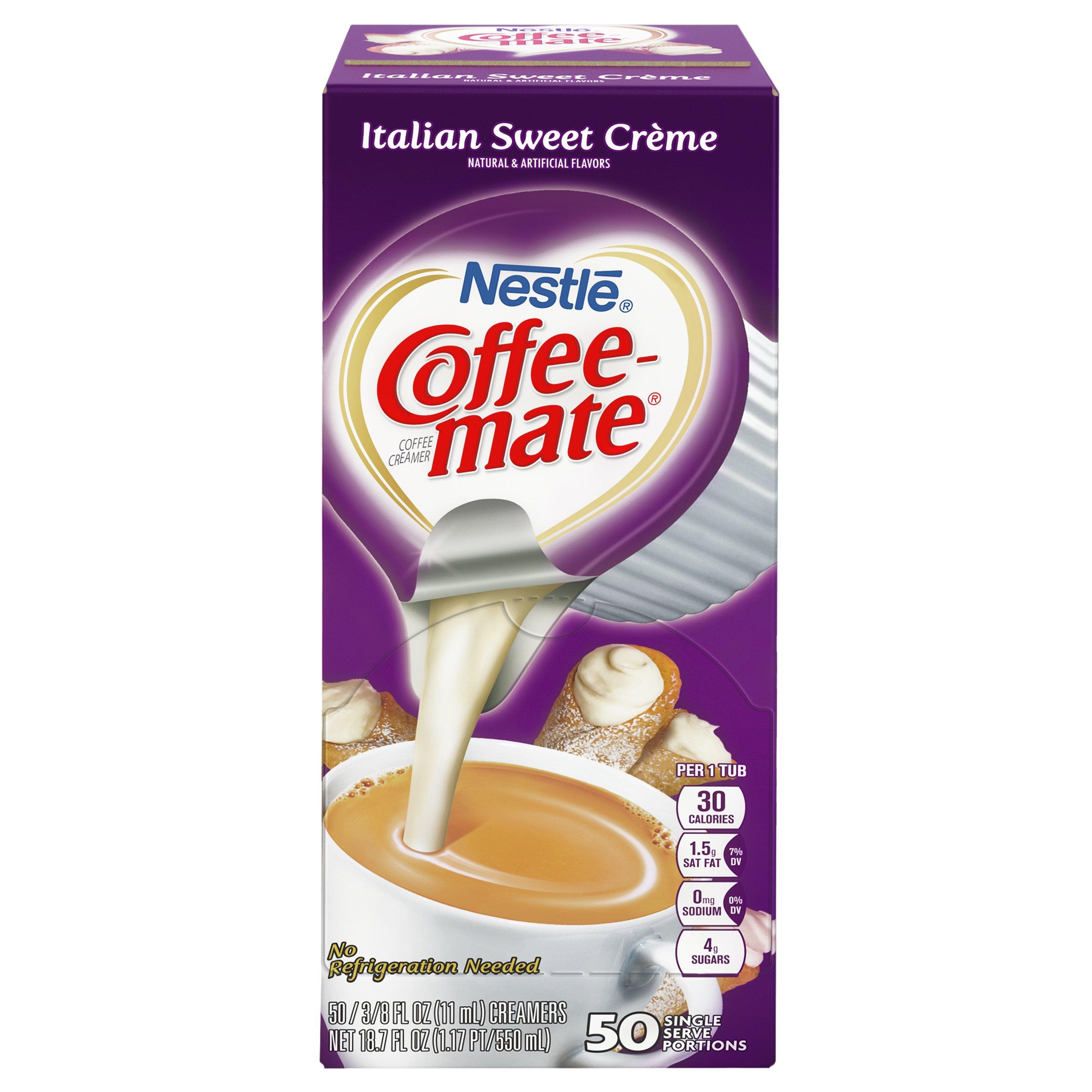 NESTLE COFFEE-MATE Coffee Creamer, Italian Sweet Creme, liquid creamer singles, Pack of 200 by Nestle Coffee Mate (Image #2)