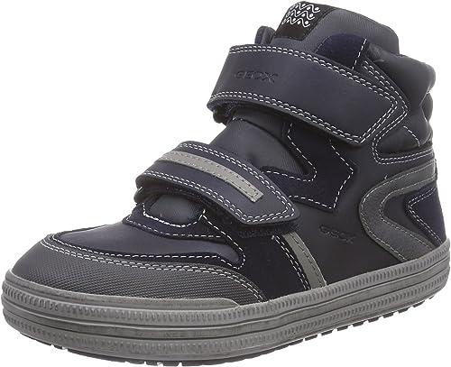 ducha Miserable crimen  Geox J Elvis E, Boys' Hi-Top Sneakers: Amazon.co.uk: Shoes & Bags