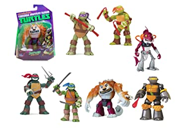 Tortugas Ninja - Figura, 5 Modelos, 14 cm (Giochi Preziosi ...