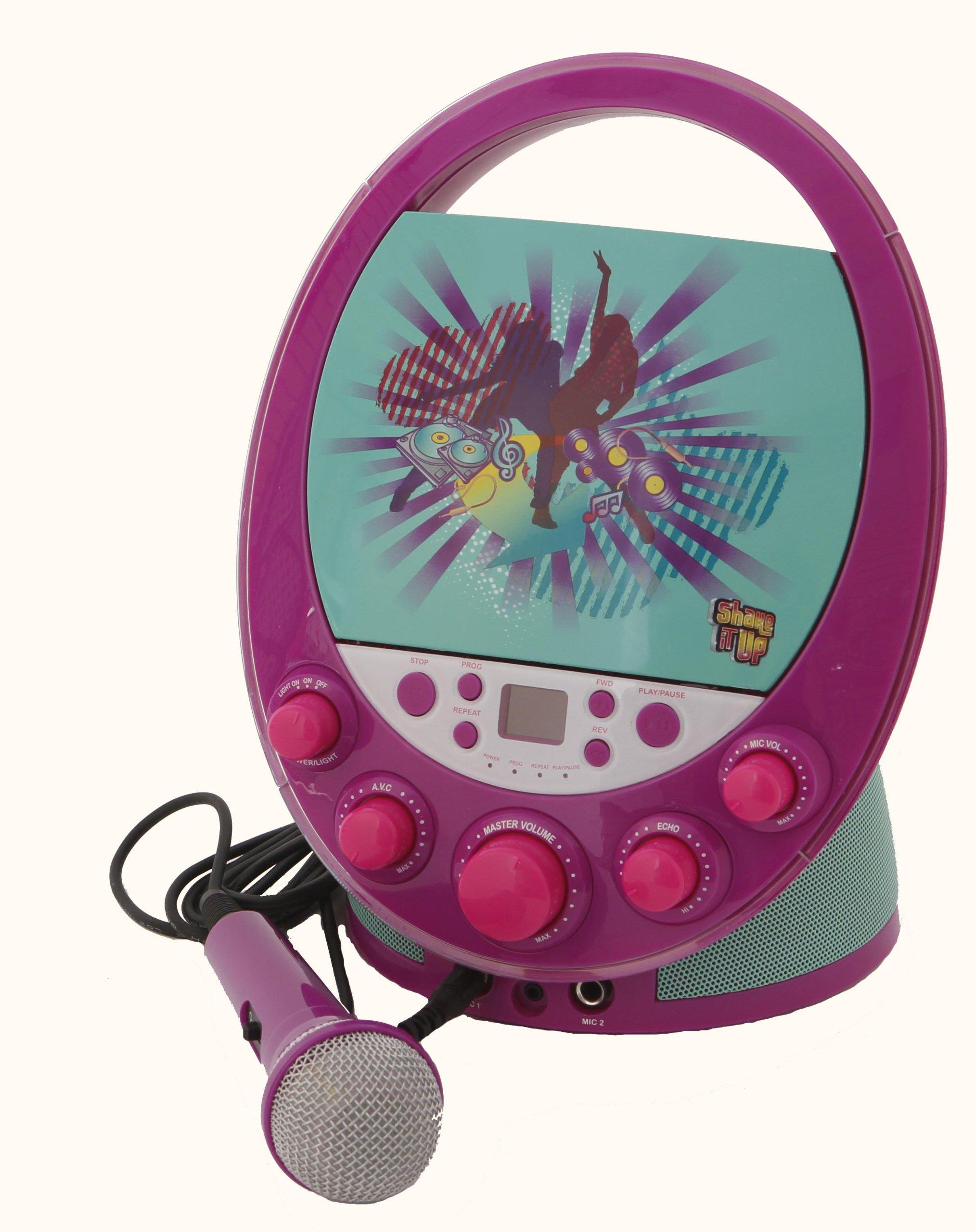 Karaoke System 66014 Shake it Up Karaoke Machine, Purple by Karaoke System (Image #3)