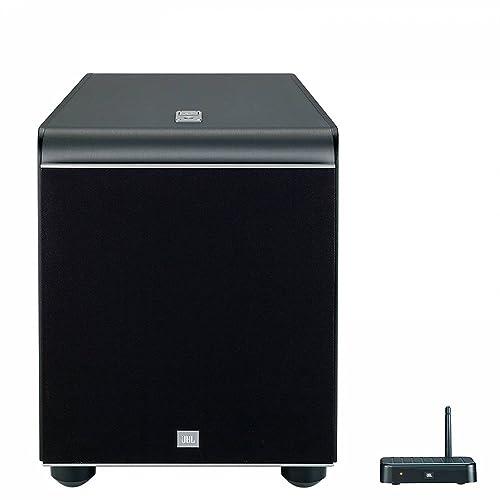 JBL ES250PW Caisson de Basses de 400-Watt 300 mm (12'') Sans Fil Bluetooth - Noir