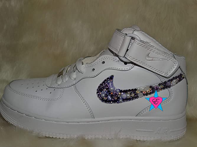 Amazon.com  Bling Sneakers Force 1 18452fd761