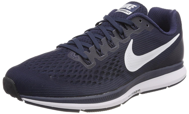 Nike Herren Air Zoom Pegasus 34 Laufschuhe Schwarz (schwarz Weiß-Dark grau) Größe B071HN146J  | Günstigen Preis