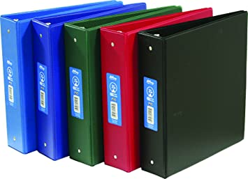 Hilroy 2 Inch School Binder, 11 X 8.5 Inches, Assorted Colors ...