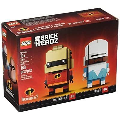 LEGO BrickHeadz Mr. Incredible & Frozone Building Kit 41613 160 pieces: Toys & Games