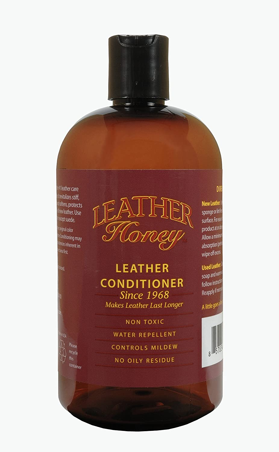 Leather Honey Leather Conditioner, Best Since 1968 (16 Oz)