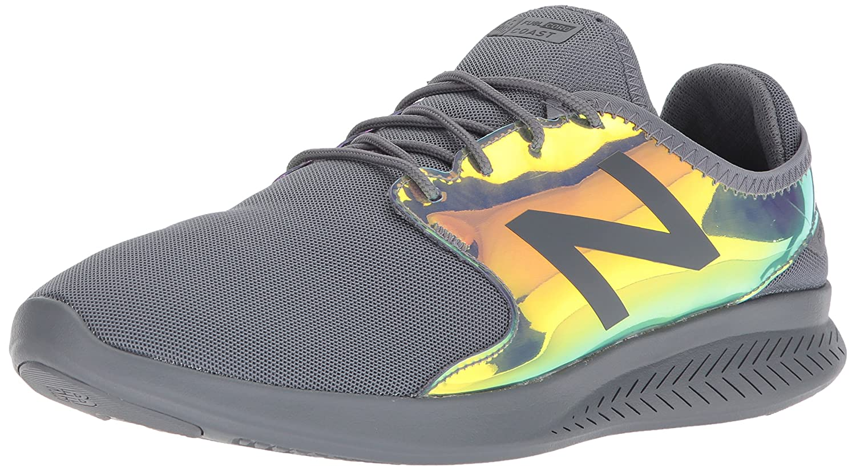 New Balance Men's FuelCore Coast V3 Running Shoe B01NBOD75S 10.5 4E US|Gunmetal/Rainbow