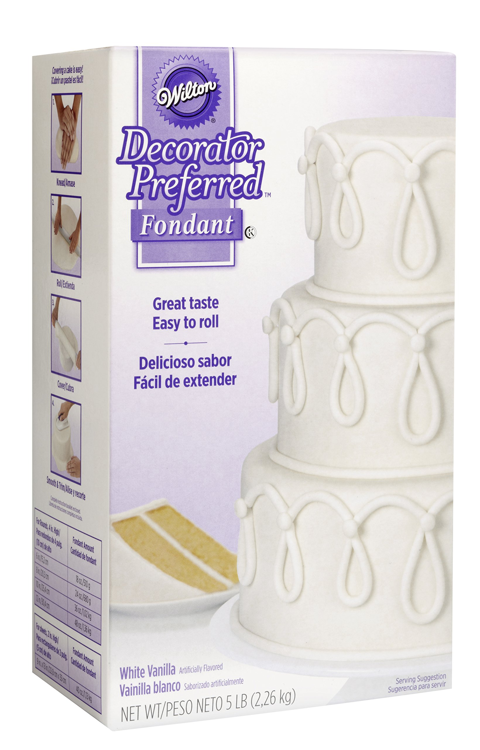 Wilton Decorator Preferred White Fondant, 5 lb. by Wilton (Image #2)