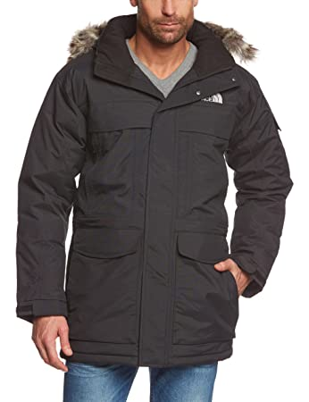 The North Face Waterproof Mcmurdo Men's Outdoor Hooded Jacket available in  TNF Black - X-