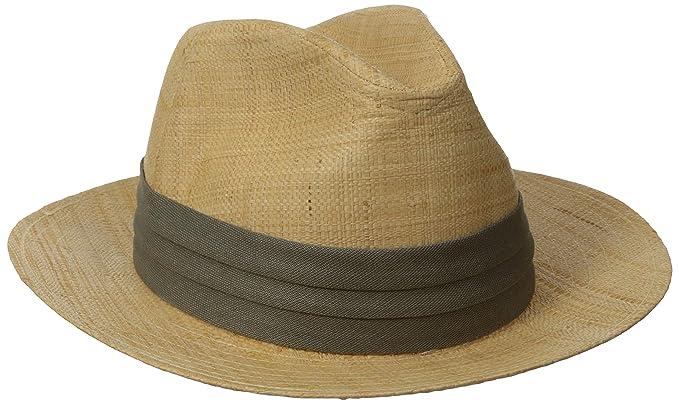 b6166594 Tommy Bahama Men's Safari Raffia Hat at Amazon Men's Clothing store: Panama  Hats