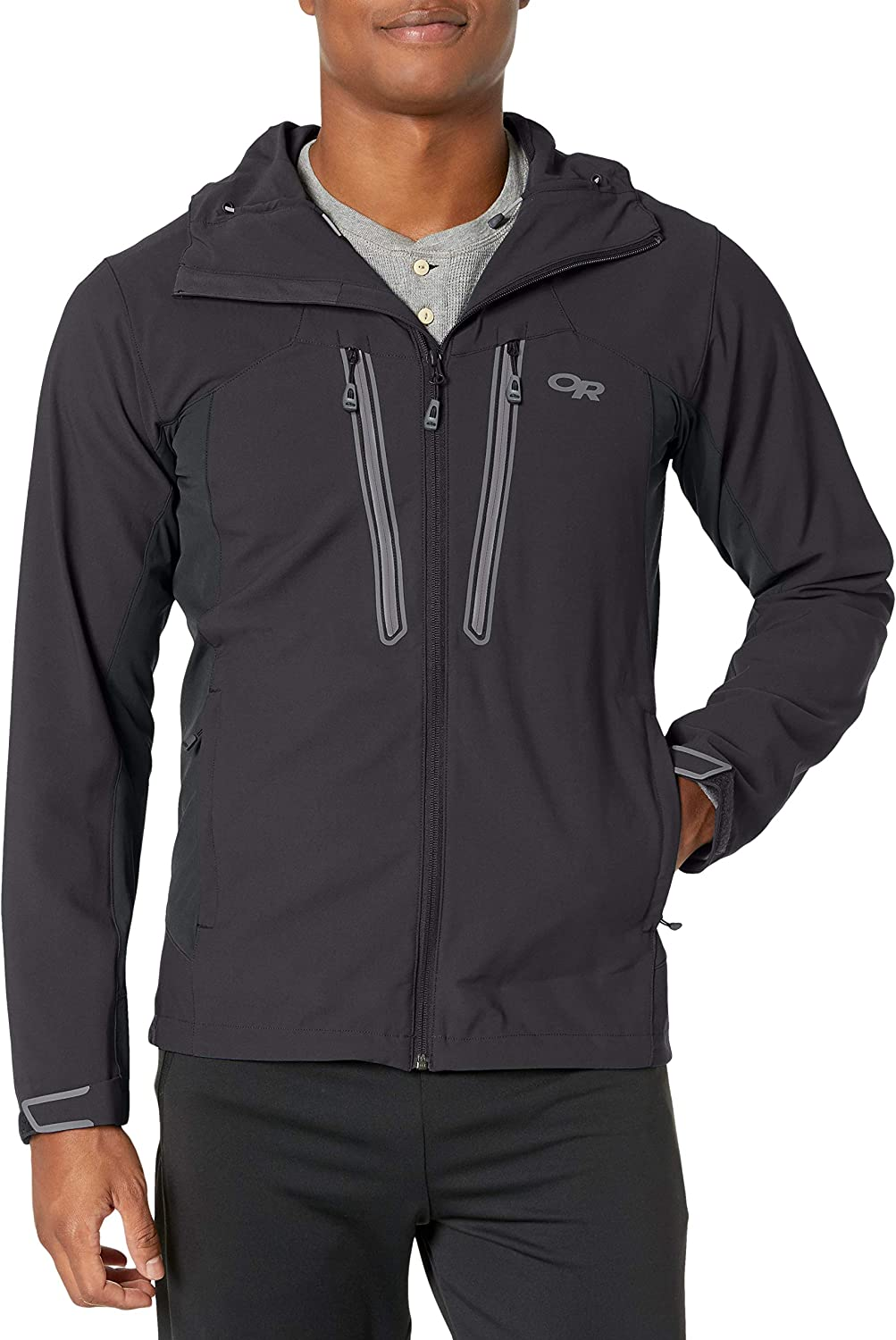 Outdoor Research Men's Ferrosi Summit Hooded Jacket