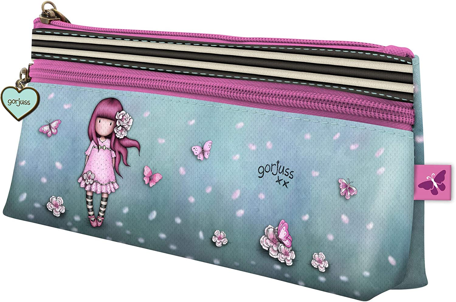 Gorjuss 776GJ05 Sparkle & Bloom - Estuche con cremallera: Amazon.es: Equipaje