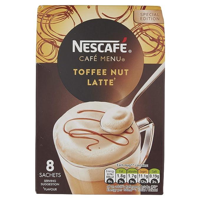 Nescafe   Café instantáneo   Coco Latte   8 palos por paquete 111gr/3.92oz