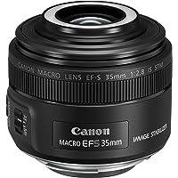 Canon EF-S 35mm f/2.8 is STM Macro Lens with Macro liteLens,Black(EFS3528M)