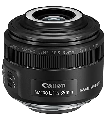 Canon EF-S 35mm f/2.8 Macro IS STM Camera Lenses at amazon