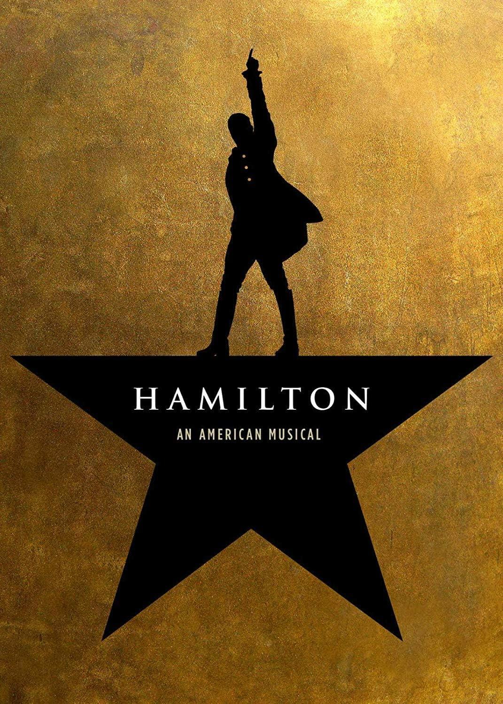 Amazon.com: Poster Hamilton Musical Broadway Poster - No Frame ...