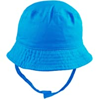 Pesci Baby Boys Girls Summer Bucket Sun Hat with Chin Strap