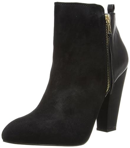Amazon.com | Steve Madden Women\'s Jannyce Boot, Black Suede, 10 M ...