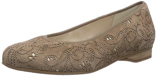Semler Nancy - Bailarinas para mujer, color braun (146 camel-gold), talla 35.5: Amazon.es: Zapatos y complementos
